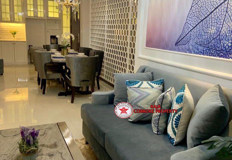 Termewah Mehek Luxurius Apartemen CasaGrande Phase 1 / 2 Interior Conect with Shoping mall jakarta